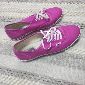 VANS Magenta Sneakers